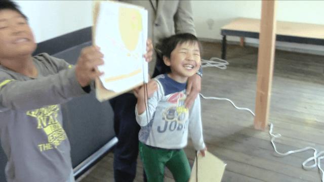 まちあるきプログラミング in 笠間:子供たちの笑顔
