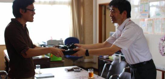 水戸市立石川小学校にPCを届けました